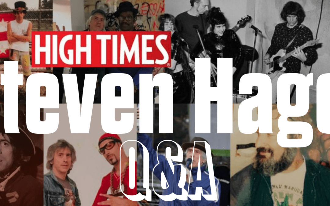 Steven Hager of High Times
