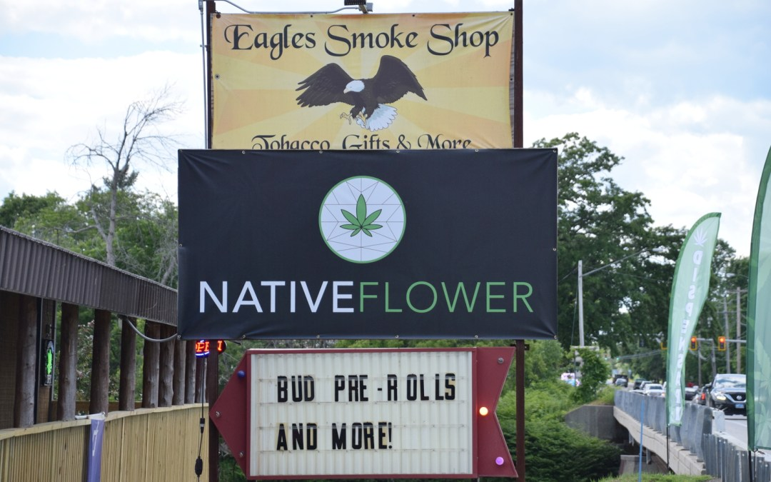 Mohawk Tribe May Be First to Offer Legal Cannabis to Adults in New York